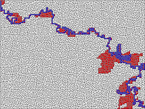 A* Pathfinding in Javascript image