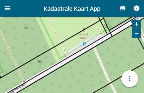 Nieuwe patch van de Kadaster Kaart image